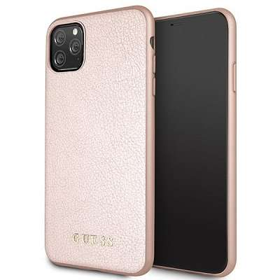 Originalen ovitek Guess (Rose gold) za iPhone 11 Pro Max