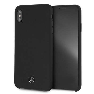 Originalen ovitek Mercedes (Silicone Line Collection) za iPhone XS Max