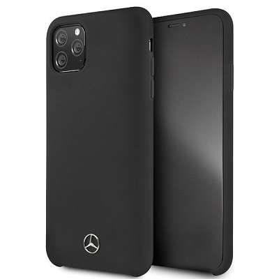 Originalen ovitek Mercedes (Silicone Line Collection) za iPhone 11 Pro Max