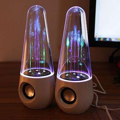 Atraktivni vodni zvočniki (Barvni snopi)